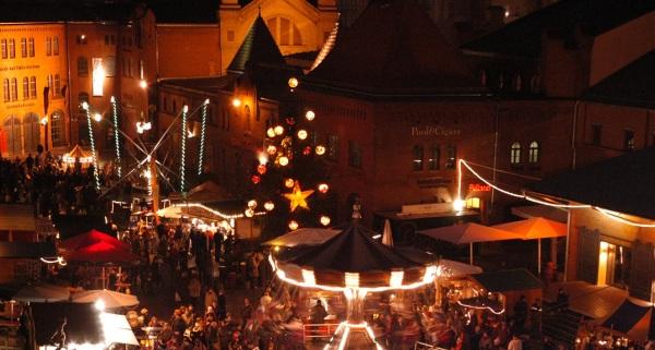 Lucia Weihnachtsmarkt in der Kulturbrauerei Berlin (c) Jochen Loch