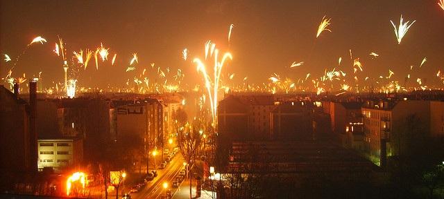 Silvester in Berlin flickr (c) flibflob CC-Lizenz
