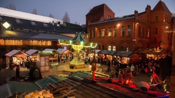 Lucia-Weihnachtsmarkt